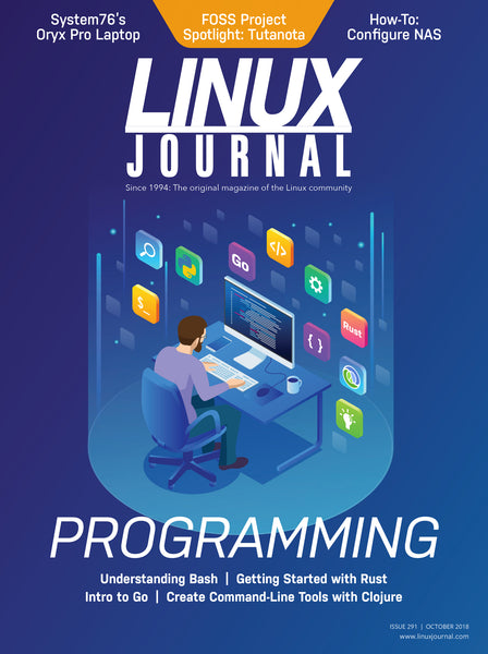 October 2018 Issue of Linux Journal