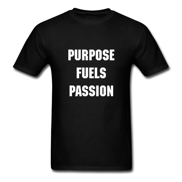 Men's Purpose Fuels Passion T-Shirt - black