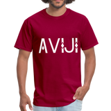 Men's Aviji T-Shirt - dark red