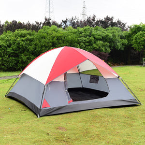 4-Person Camping Tent with Carrying Bag