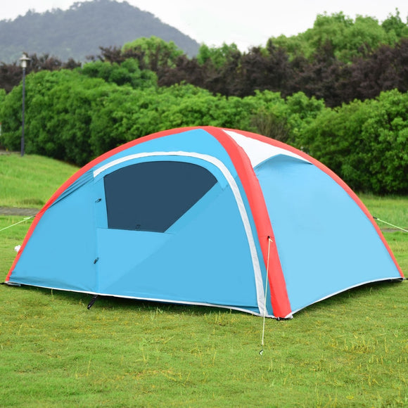 3 Persons Inflatable Camping Waterproof Tent with Pump