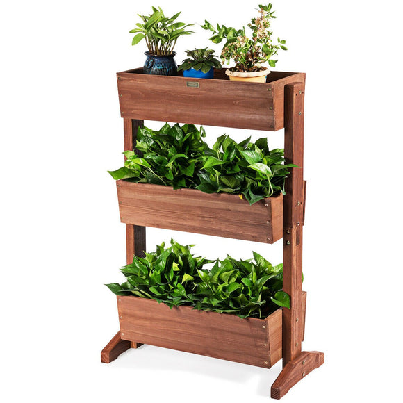 3-Tier Raised Garden Bed