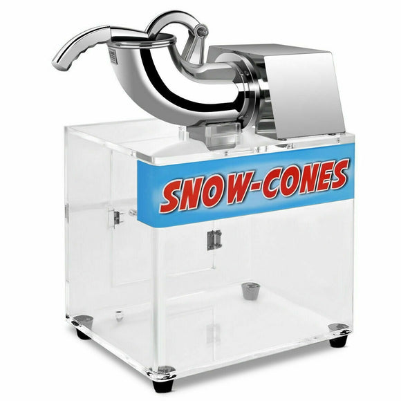 Electric Snow Cone Ice Shaver Machine