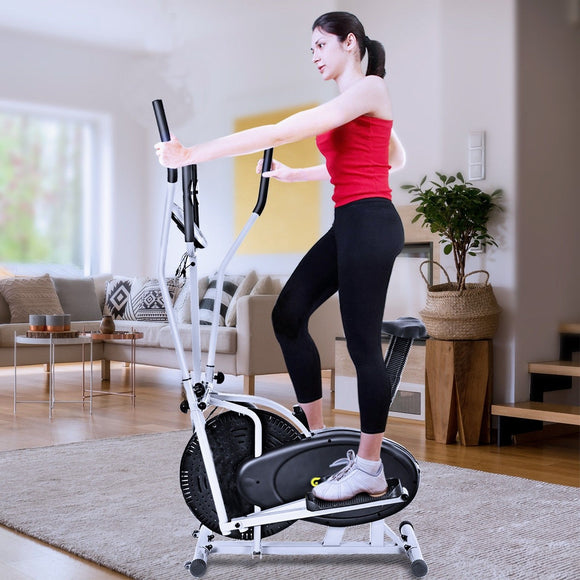 2 in 1 Elliptical Dual Cross Trainer  Bike