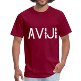 Men's Aviji T-Shirt - burgundy