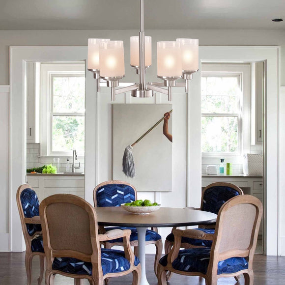 Coastal 5 - Light Pendent Chandelier