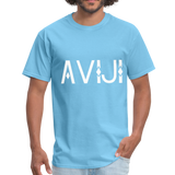 Men's Aviji T-Shirt - aquatic blue