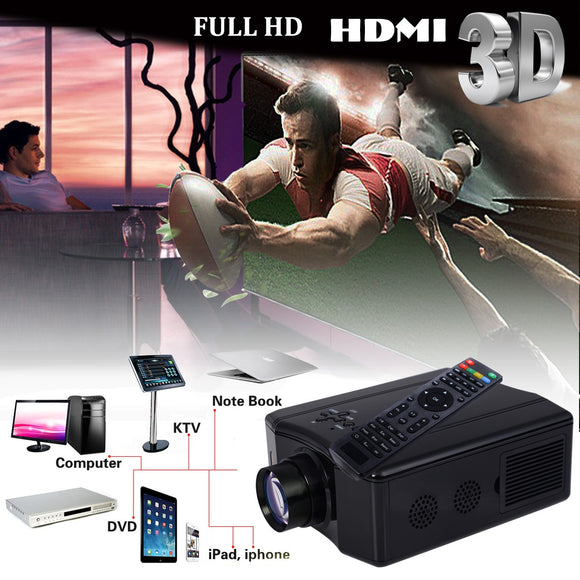 4000 Lumens Portable Home Theater Projector