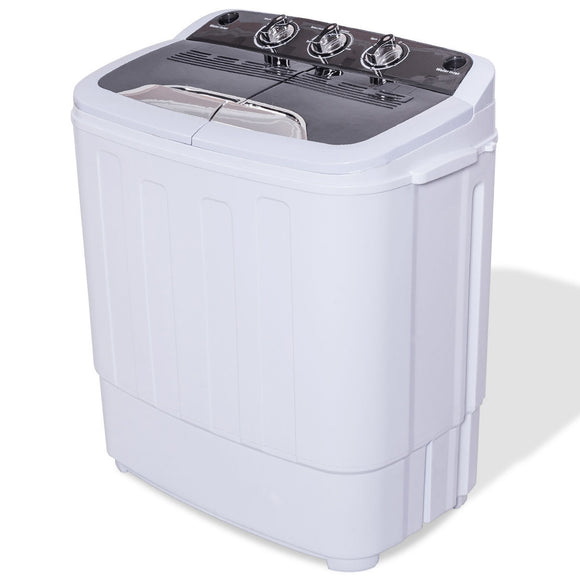 8 lbs Portable Twin Tub Washing Machine