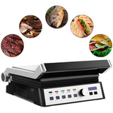 1500W Electric Grill with Removable Plates