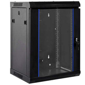 Data Network Cabinet with Locking Glass Door (wall mountable)
