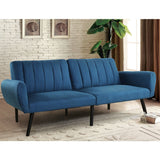 Easton Navy Sofa Futon Sleeper Couch
