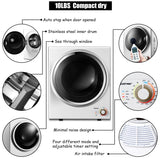 Wall Mountable Compact Clothes Dryer