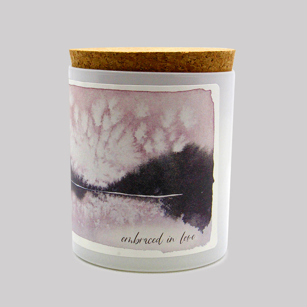 Embraced in Love Prayer Candle