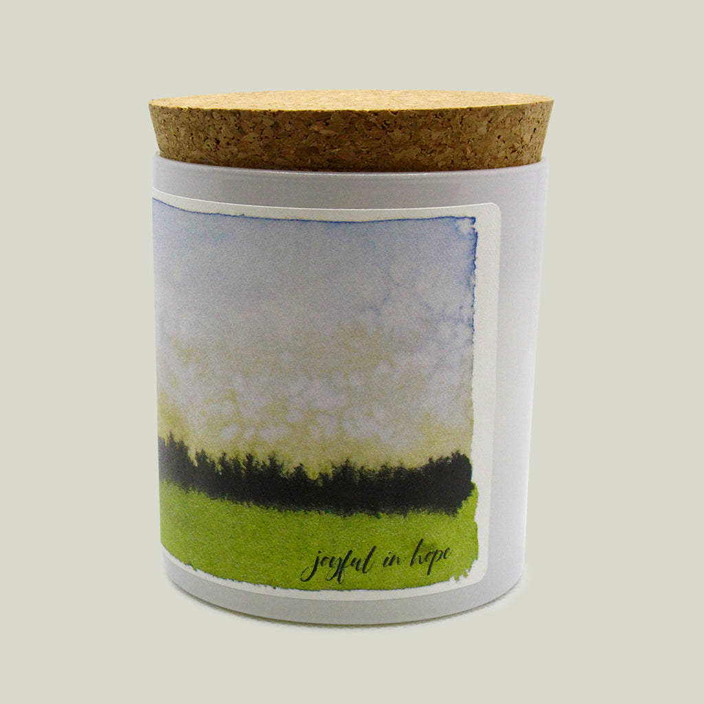 Joyful in Hope Prayer Candle