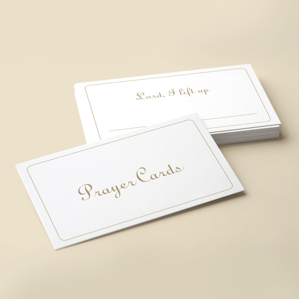 Angie & Celeste Prayer Cards