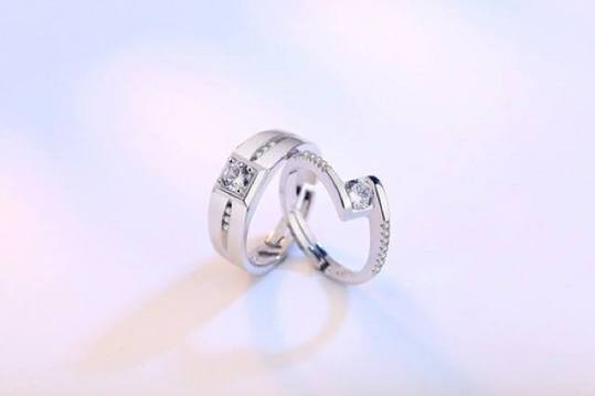 Majestic Eternity Couple Ring