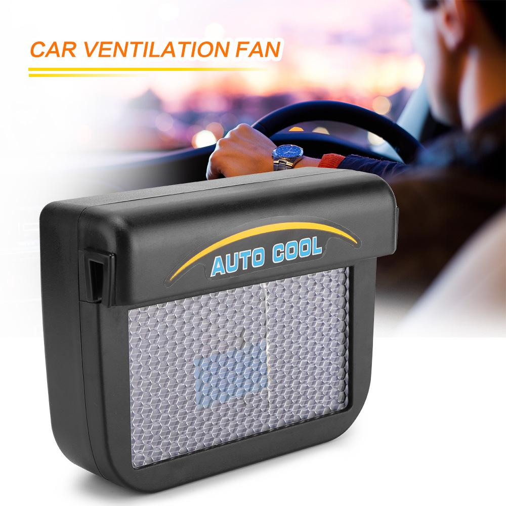 SOLAR POWER CAR COOLER VENTILATION SYSTEM