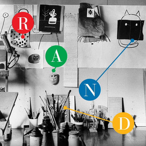 Looking for Clues in Paul Rand's Studio