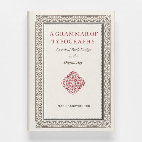 A Grammar of Typography