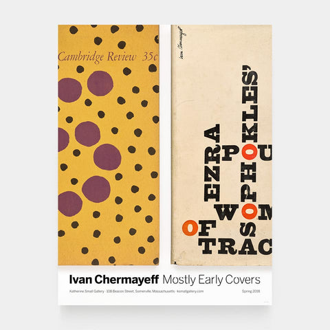 Ivan Chermayeff: Mostly Early Covers Poster