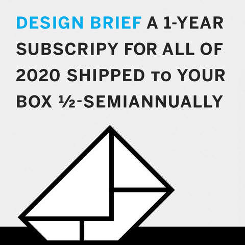 Design Brief: Subscription for 2020