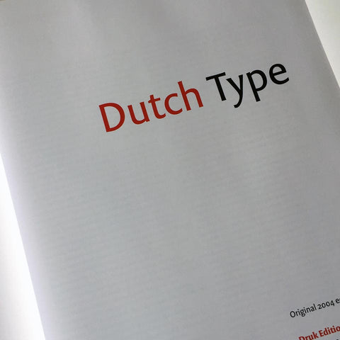 Dutch Type