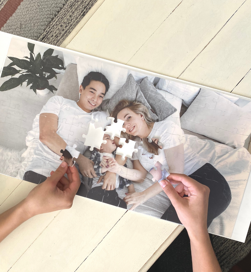 Personalised 105 pieces Photo Print Puzzle
