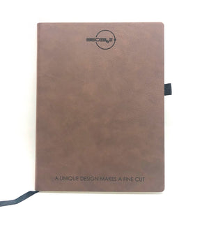 Personalised Leather Notebook