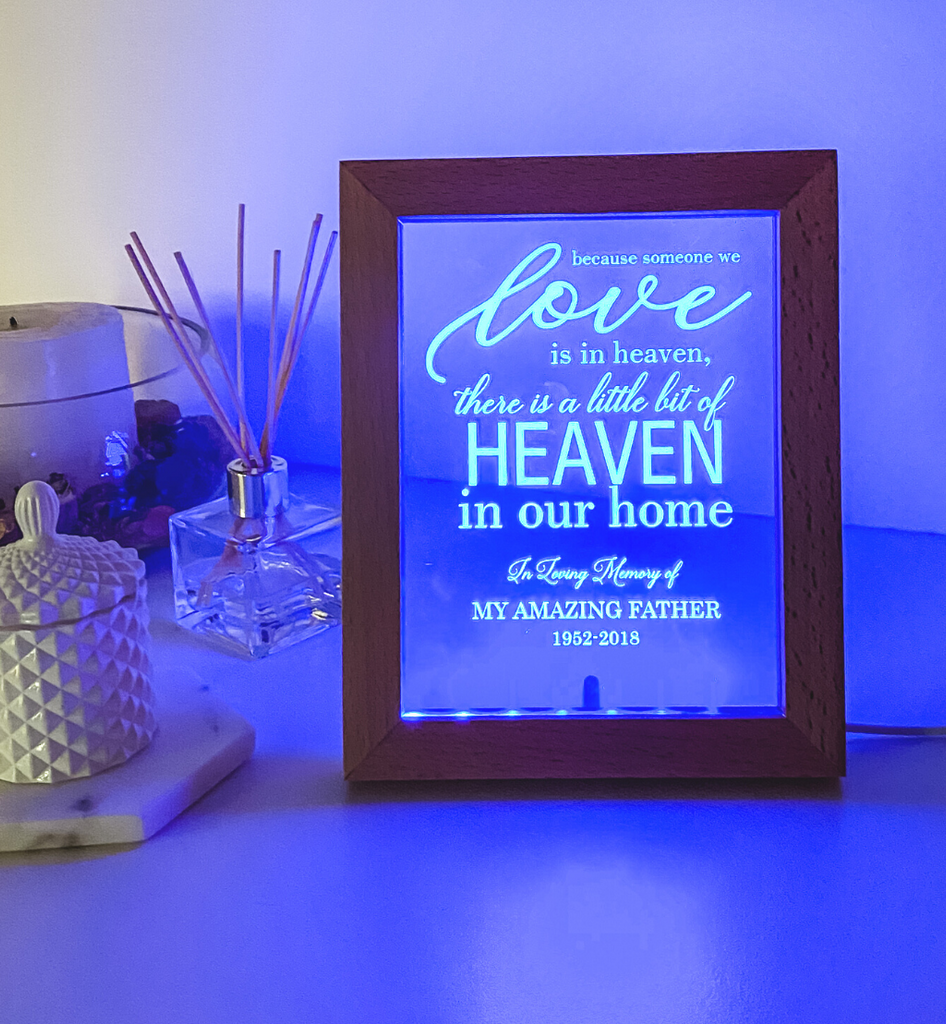 Personalised LED Photo Frame