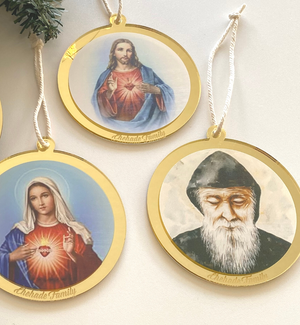 Religious Photo Ornaments