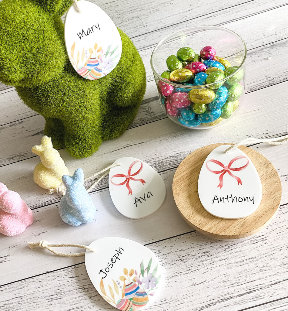 PERSONALISED EASTER EGG GIFT TAG