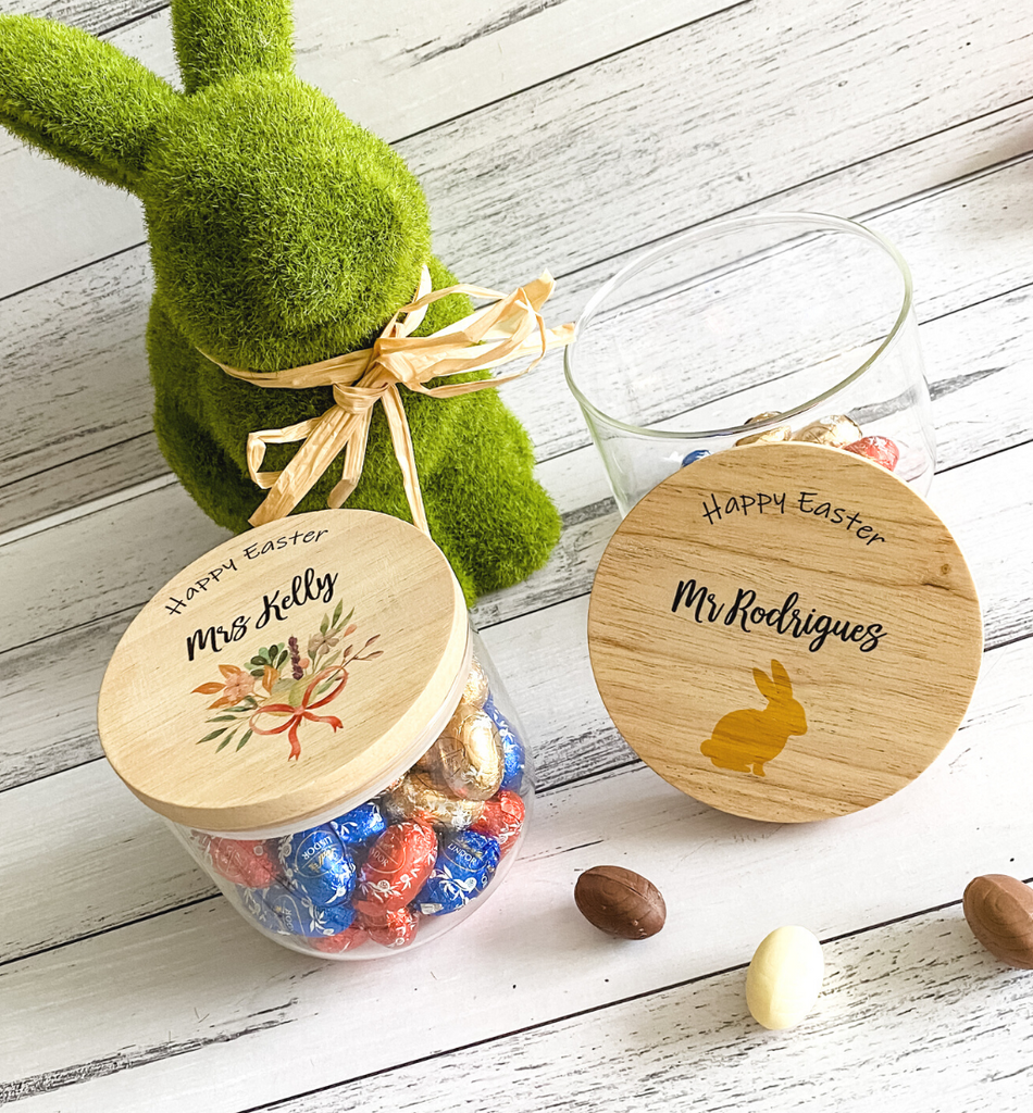 PERSONALISED EASTER GIFT JARS