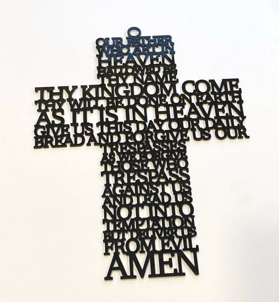 Ready to Hang Prayer Cross