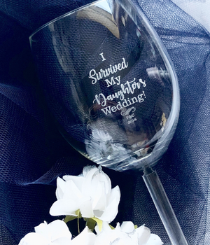 Customer Engraved Wine Glass