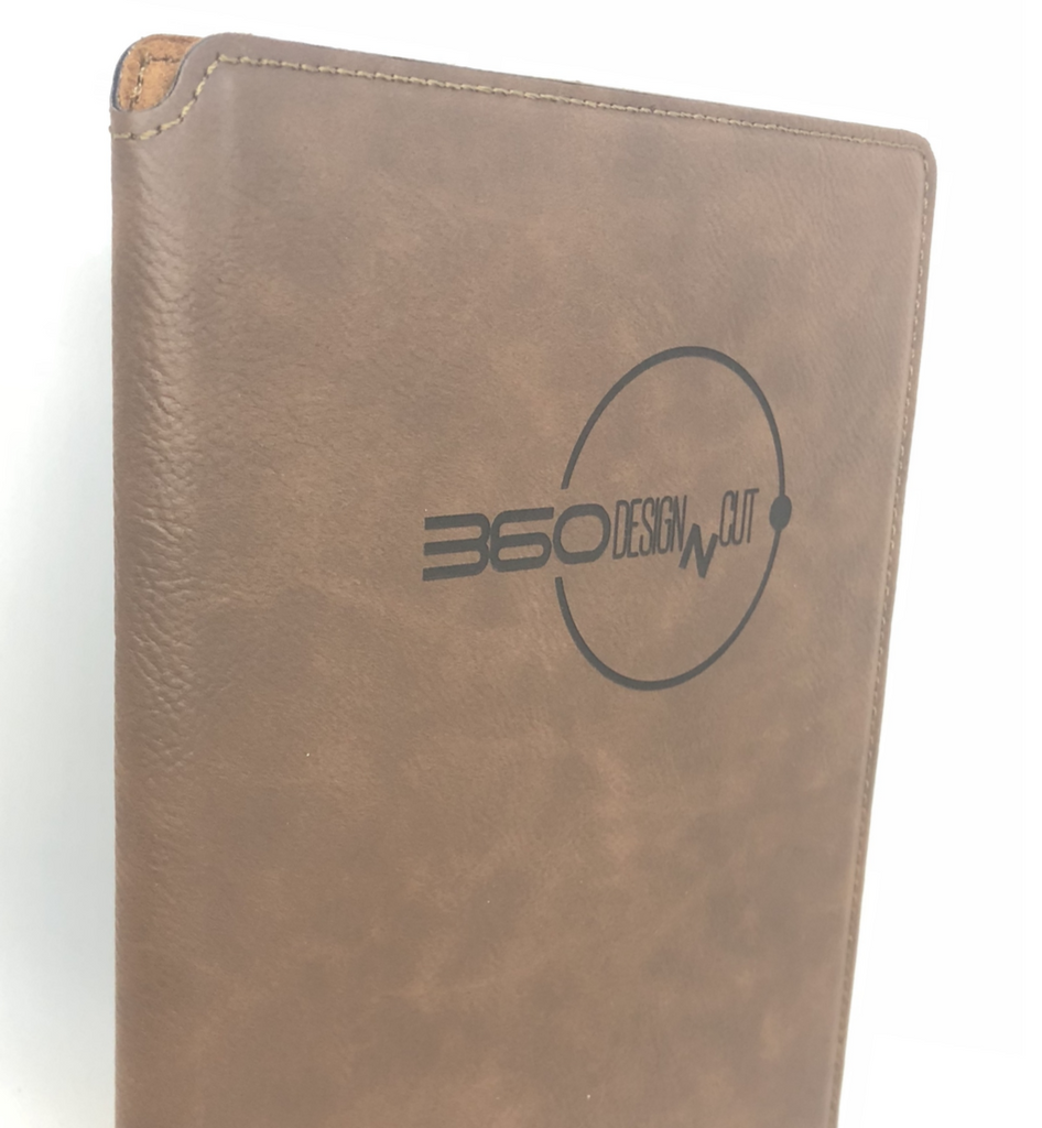 Personalised Leather Medium Portfolio
