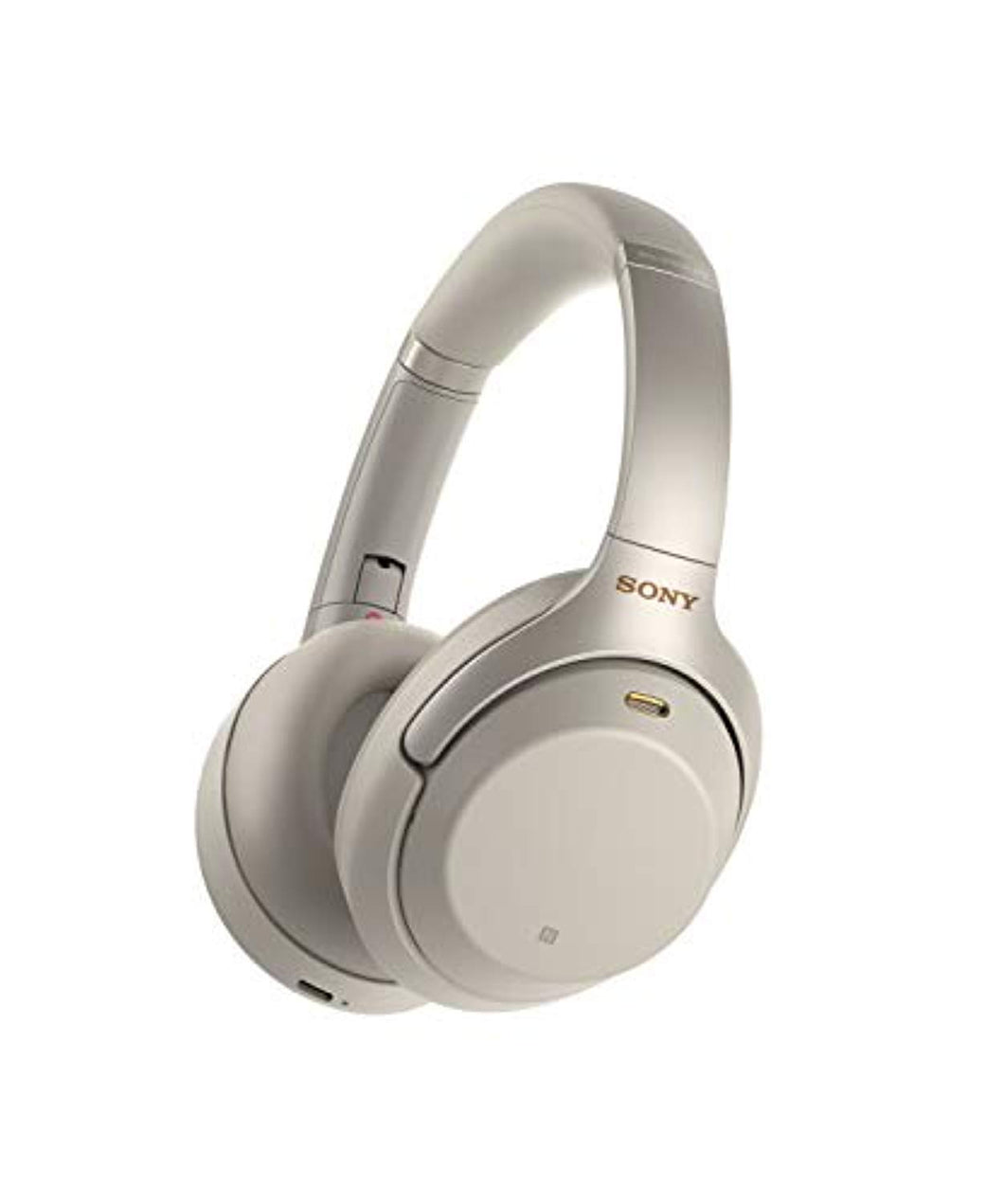 Sony WH1000XM3 Bluetooth Wireless Noise Canceling Headphones Silver WH-1000XM3/S (Certified Refurbished)