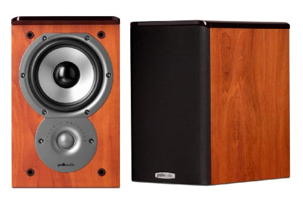 Polk Audio TSi100 Bookshelf Speakers (Pair, Cherry)