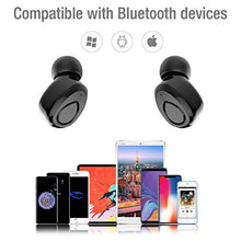 GEJIN True Wireless Bluetooth Earbuds, 15 Hour Playtime, 3D Stereo Sound, Built-in Microphone, Sweatproof in-Ear Earphones with Portable Charging Case