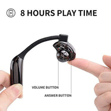 AMINY Utwo Wireless Earbuds | Bluetooth 5.0, IPX6 Sweatproof Sport Wireless, Built-in Mic Noise Cancelling, iPhone/Samsung/Andriod