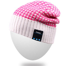 Rotibox Bluetooth Beanie Hat, Winter Outdoor Sport Knit Cap with Wireless Headset Speaker Mic Hands Free Compatible with iPhone and Android