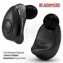 True Wireless Earbuds – Superior 3D Stereo Sound 5.0 Mini in Ear Bluetooth Earbuds, 18Hr Play Time, SweatProof Sports Earphones Headset, Built in Microphone & Dual Speakers for Phone Calls