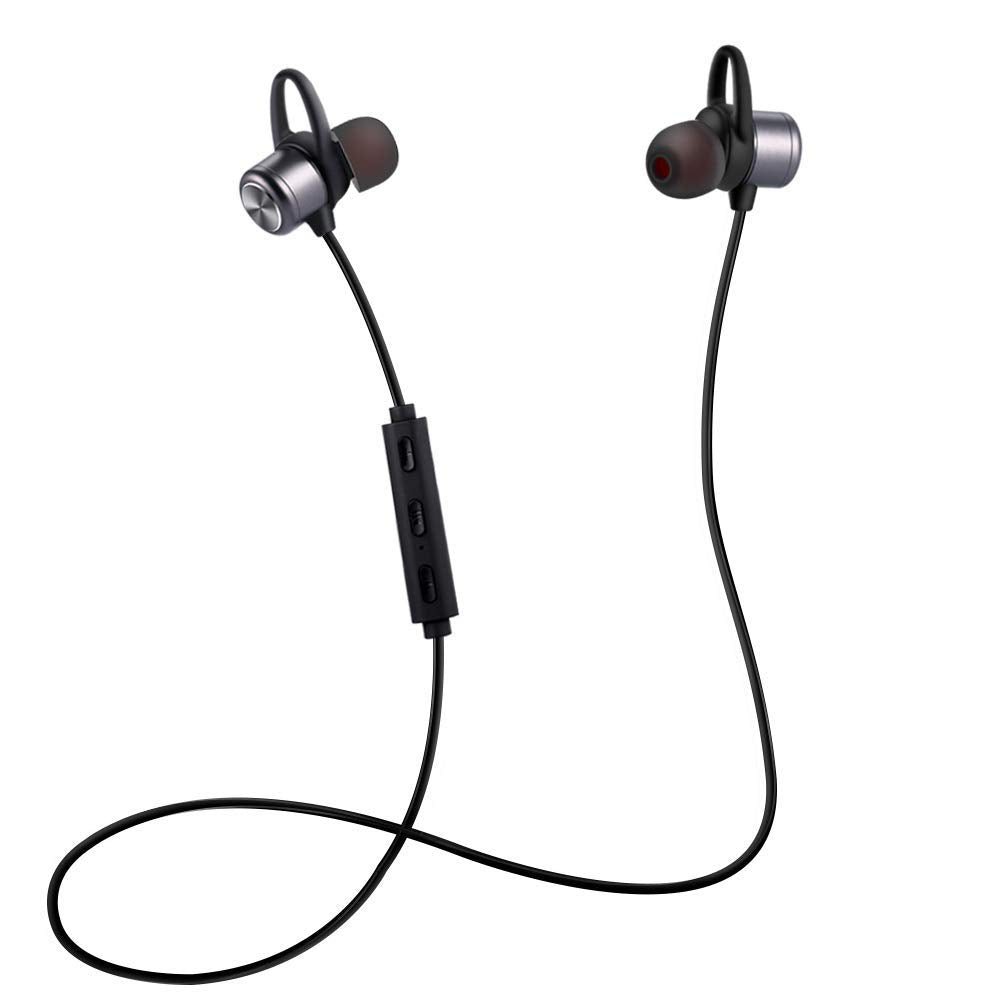 ESTAVEL Bluetooth Headphones - True Wireless Bluetooth Sport Earbuds IPX5 Deep Bass in-Ear Stereo Headsets with MIC