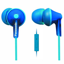 Panasonic ErgoFit In-Ear Earbuds Headphones RP-TCM120-K, Dynamic Crystal Clear Sound, Ergonomic Comfort-Fit (Black)