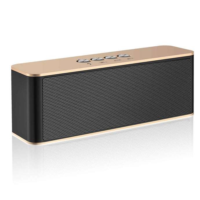 Bluetooth Speaker, ZoeeTree S5 TWS Portable Wireless Speakers with Loud Clear Sound and Rich Bass, Perfect Outdoor Stereo Speaker Built-In Mic, Bluetooth 4.2 and TF Card Slot