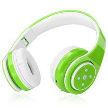 Bluetooth Headphones for Kids, 85 dB Volume Limited, up to 6-8 Hours Play, Stereo Sound, SD Card Slot, Over-Ear and Build-in Mic Wireless/Wired Headphones for Boys Girls(Blue)
