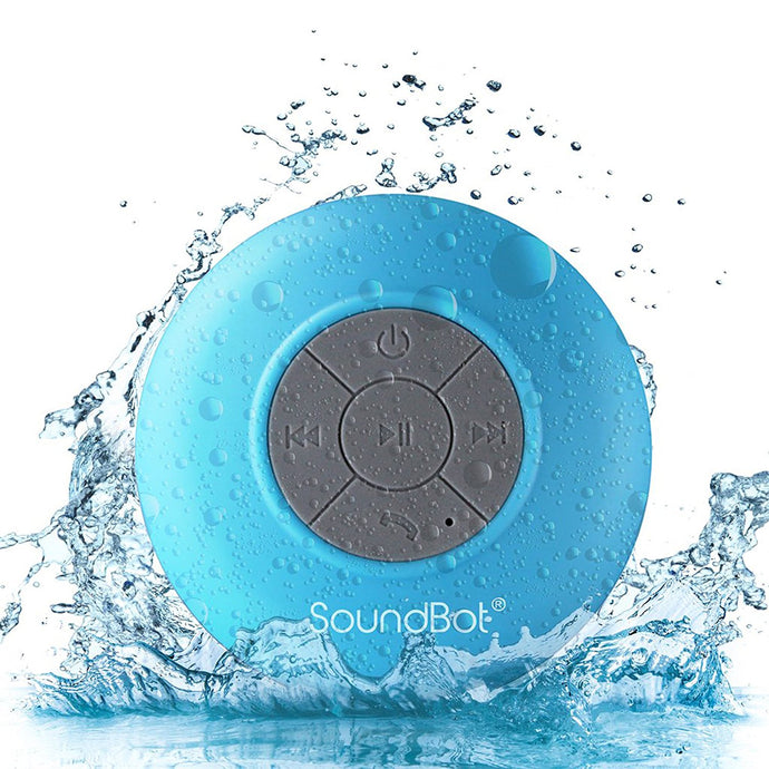 d0b52b77a9c SoundBot SB510 HD Water Resistant Bluetooth 3.0 Shower Speaker, Handsfree  Portable Speakerphone with Built-