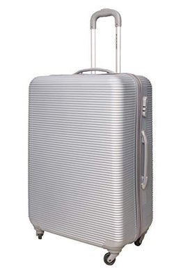 Spinner Trolley Hand Luggage Suitcase Bag Case Set of 3 Light Grey Trolley Luggage Bags
