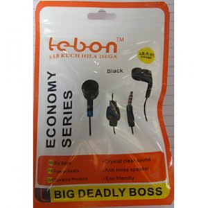 Pack Of 10 LEBON Mobile Ear Phones with Superbeat Bass Music (White) - HomeEkart