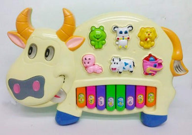 Pack of 5 - Funny Musical Cow Piano